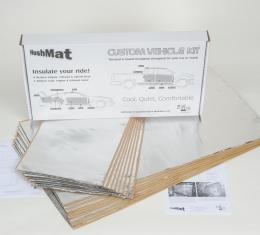 HushMat MG MGB 1962-1981   Sound and Thermal Insulation Kit 57010