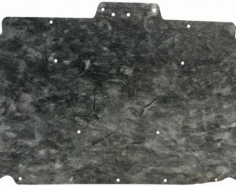 Camaro Hood Insulation, Without Crossfire Fuel Injection, Z28, 1982-1984