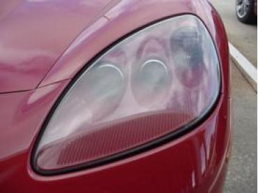 Corvette Headlight Assembly, Millenium Yellow, Left, 2005-2013