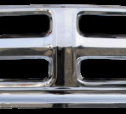 Key Parts '68-'72 Custom All Chrome Grille Frame 0849-039 G