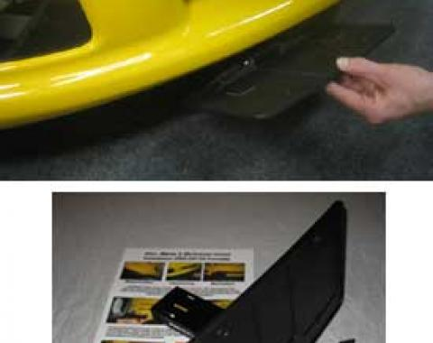 "Corvette Front License Plate Mount, ""Show & Go"", Grand Sport & Z06, 1997-2013"