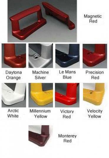 Corvette Color Keyed Door Handles, Lemans Blue, 2005-2013