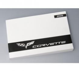 Corvette Owners Manual, 2005