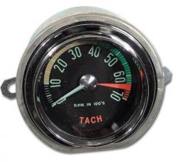 Corvette Tachometer, Generator Drive, 6500 RPM (61 Late), 1961