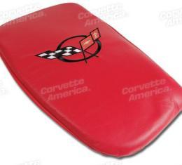 Corvette America 2000-2004 Chevrolet Corvette Vette Rest Torch Red with Black Logo 46760
