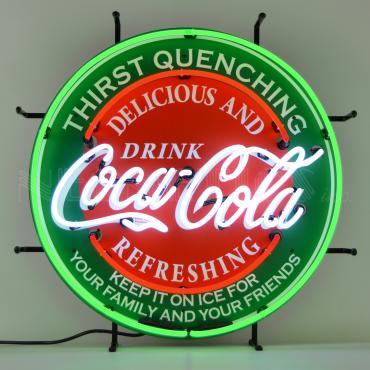 Neonetics Standard Size Neon Signs, Coca-Cola Evergreen Neon Sign