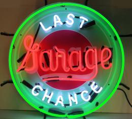 Neonetics Standard Size Neon Signs, Gas - Last Chance Garage Neon Sign