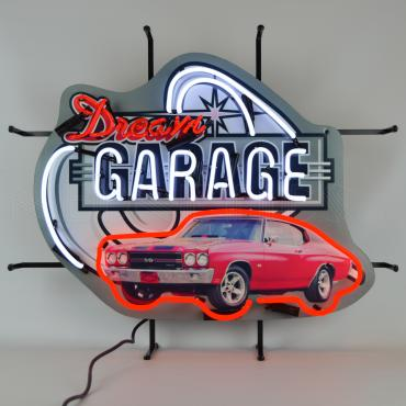 Neonetics Standard Size Neon Signs, Dream Garage Chevy Chevelle Ss Neon Sign