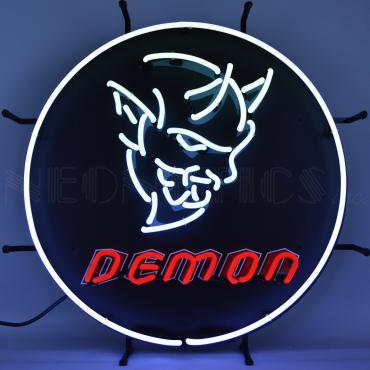 Neonetics Standard Size Neon Signs, Dodge Demon Neon Sign