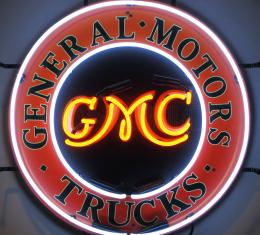Neonetics Standard Size Neon Signs, Gmc Trucks Neon Sign with Backing