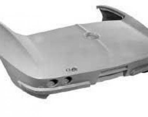 Corvette Rear End, Stock Design, Convertible, 1963-1966