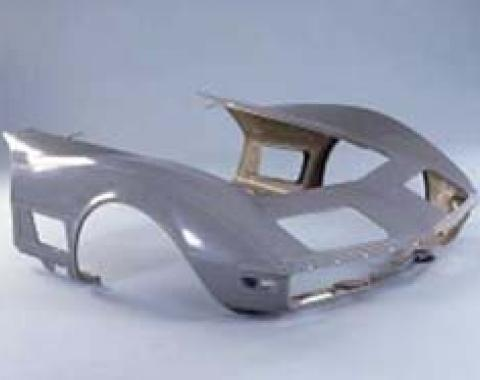 Corvette Door To Door Front End, Stock Design, 1970-1972