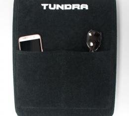 Seat Armour Tundra 2007-2013,  Konsole Cover™ with Pocket, Black, KATUNDRA07-13