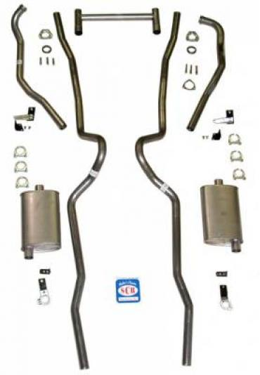 1955 - 1957 Chevrolet Full Size Exhaust System