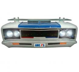 1973 AMC Rebel Front End Wall Shelf, with Working LED Lights