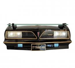 1977 SE Pontiac Trans Am Front End Wall Shelf, with Working LED Lights
