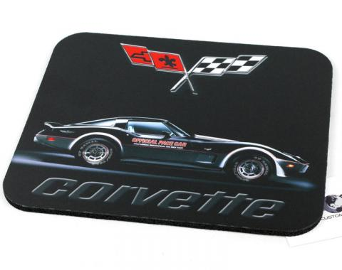 Corvette Pace Car Mouse Pad
