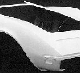 Corvette Front End, Door To Door, 1 Piece (ACI), 1968-1969