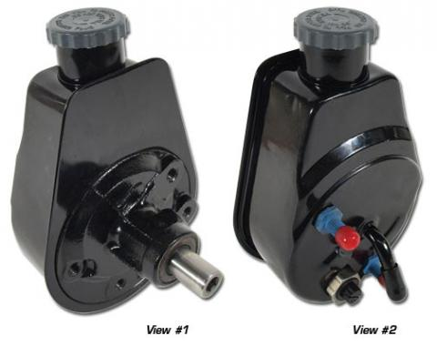Corvette Power Steering Pump, Remanufactured, 1980-1982