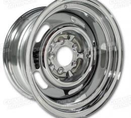 Corvette Rallye Wheel, Chrome 15X8, 1969-1982