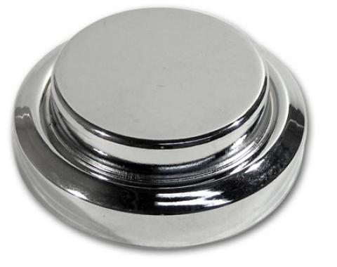 Corvette Master Cylinder Cap Cover, Chrome, 1984-1991