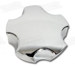 Corvette Wheel Center Cap, Chrome, 2005-2013