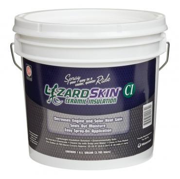 LizardSkin Original Ceramic Insulation, 1 Gallon Bucket White 1301-1