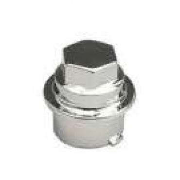 Corvette Lugnut Cover, Chrome, 2000-2004