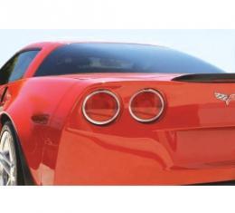 Corvette Bezel, Taillight, Billet Aluminum, 2005-2013