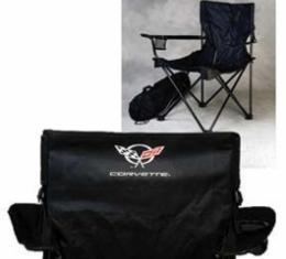 Corvette Folding Arm Chair, With C5 Emblem