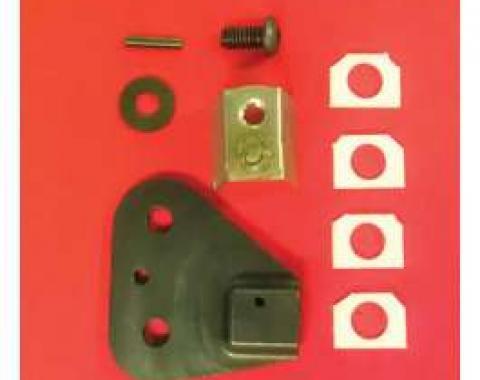 Corvette Repair Kit, Seat Track, Left, 1997-2004