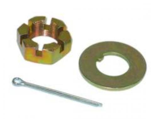 Corvette Spindle Washer & Nut Kit, Front, 1969-1982