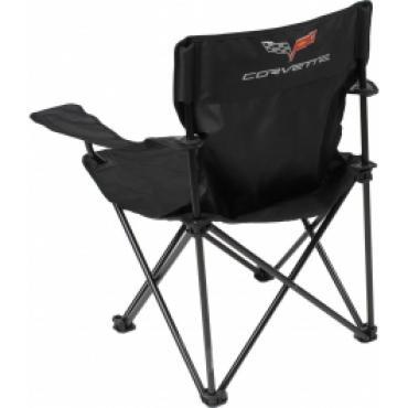 Corvette Folding Arm Chair, With C6 Emblem