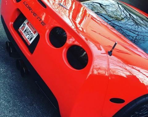 Corvette 9 Piece Blackout Kit, Acrylic, 1997-2004