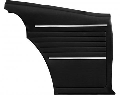 Distinctive Industries 1968 Camaro Standard Coupe Rear Quarter Panels, Preassembled 073742P