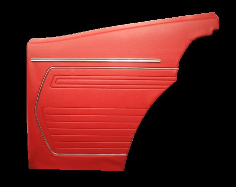 Distinctive Industries 1969 Camaro Standard Coupe Rear Quarter Panels, Unassembled 073759