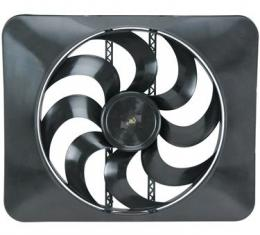 "Flex-a-Lite 15"" Black Magic Xtreme Series Electric Fan, with Adjustable Thermostat"