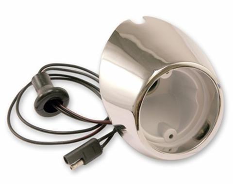 Scott Drake 67-68 RH BACKUP BODY LAMP REPO C7ZZ-15511-BR