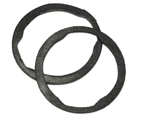 Corvette Door Lock Gaskets, Set of 2, 1953-1982