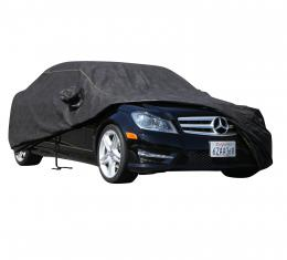 BMW COUPE Breathable Pro Series Car Cover, Black with Mirror Pockets, 2015-2016