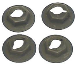 Classic Headquarters Sidemarker Lens Nut Set (8 Pcs) W-947A