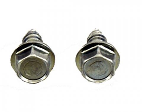 Classic Headquarters Correct Washer Nozzle Screws, Pair H-156