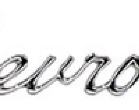 "Classic Headquarters Header/Trunk ""Chevrolet"" Emblem W-359"