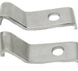 Classic Headquarters Deluxe Front Bumper Guard Mounting Brackets-Pair W-552