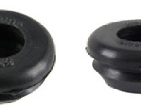 Classic Headquarters Body Plug, Rubber, One Inch, Pair W-084