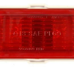 Classic Headquarters Sidemarker Lamp Assembly. Red W-766