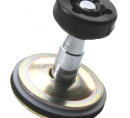 Classic Headquarters Door Glass Roller Assembly, Rear W-022