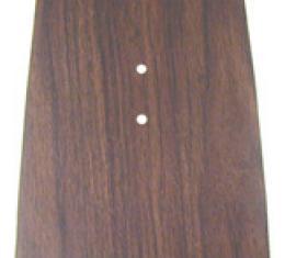 Classic Headquarters Forward Console Plate, Walnut W-619