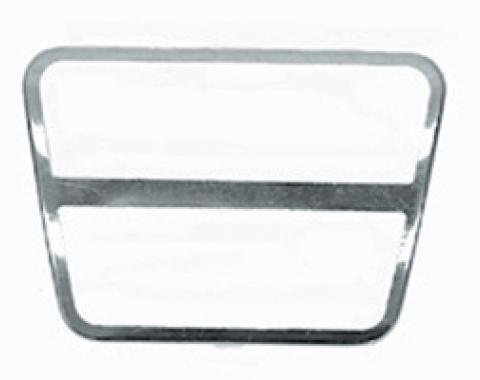 Classic Headquarters Clutch or Brake Pad Stainless Trim, Each W-192