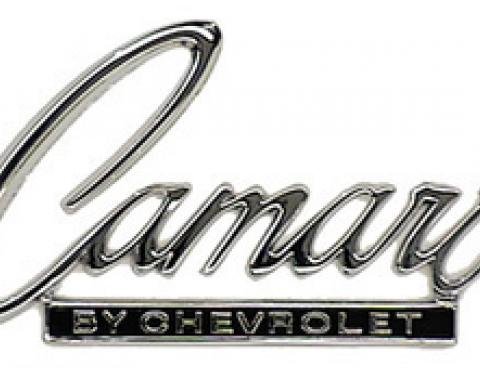 Classic Headquarters Camaro Header/Trunk Emblem W-361